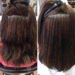 傷み過ぎてしまった髪の毛に、『髪質改善・縮毛矯正エステ』でいけるところまで、がんばった結果!!!