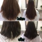 【ORINASお客様カルテ】髪質改善カラーエステで以前かけたパーマが復活♪