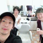 広島の美容室からORINASにヘアエステの研修に来られた美容師さん♪若いって素晴らしい!!