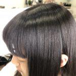 【ORINASお客様カルテ】縮毛矯正で、前髪を自然で柔らかい仕上がりにする為に必要な事とは!?