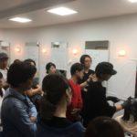 【SELストレートシステム(縮毛矯正の仕組み)】講習会を開催しました♪沢山の美容師さんに集まっていただきました♪